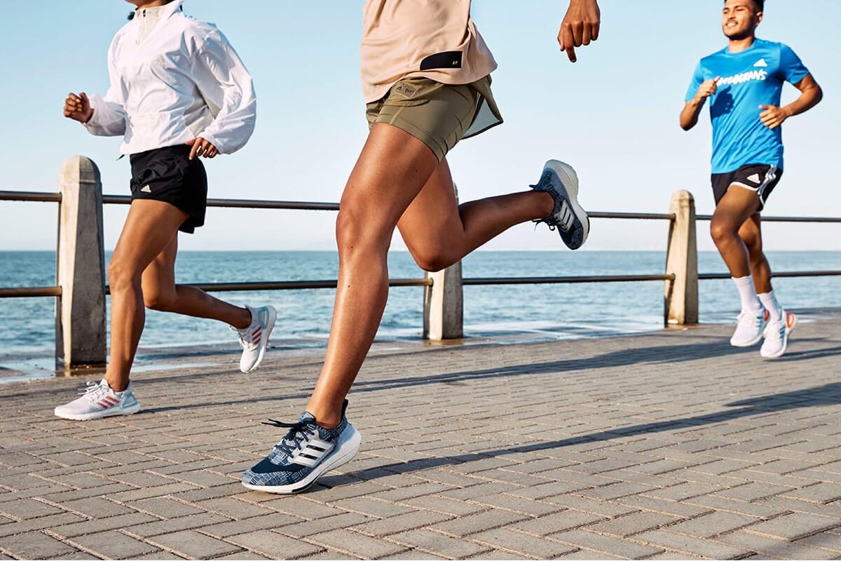 Corsa in riva al mare