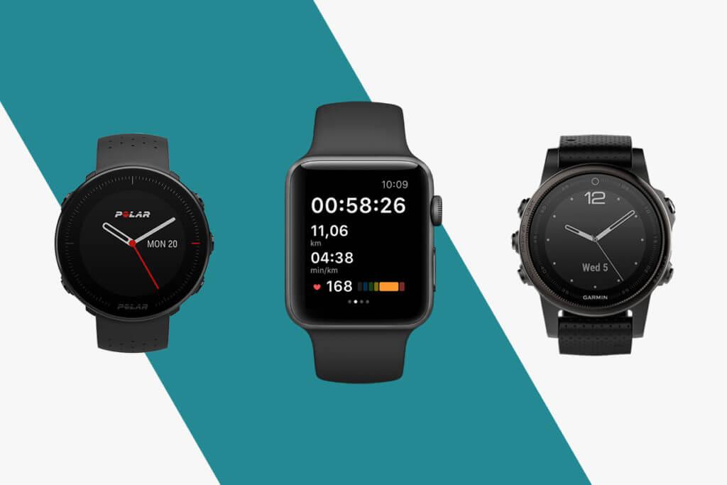 montres connectées et applications compatibles avec adidas Running