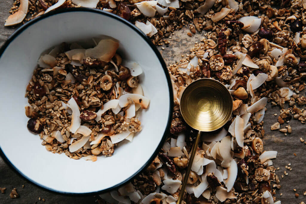 Tazza con cereali