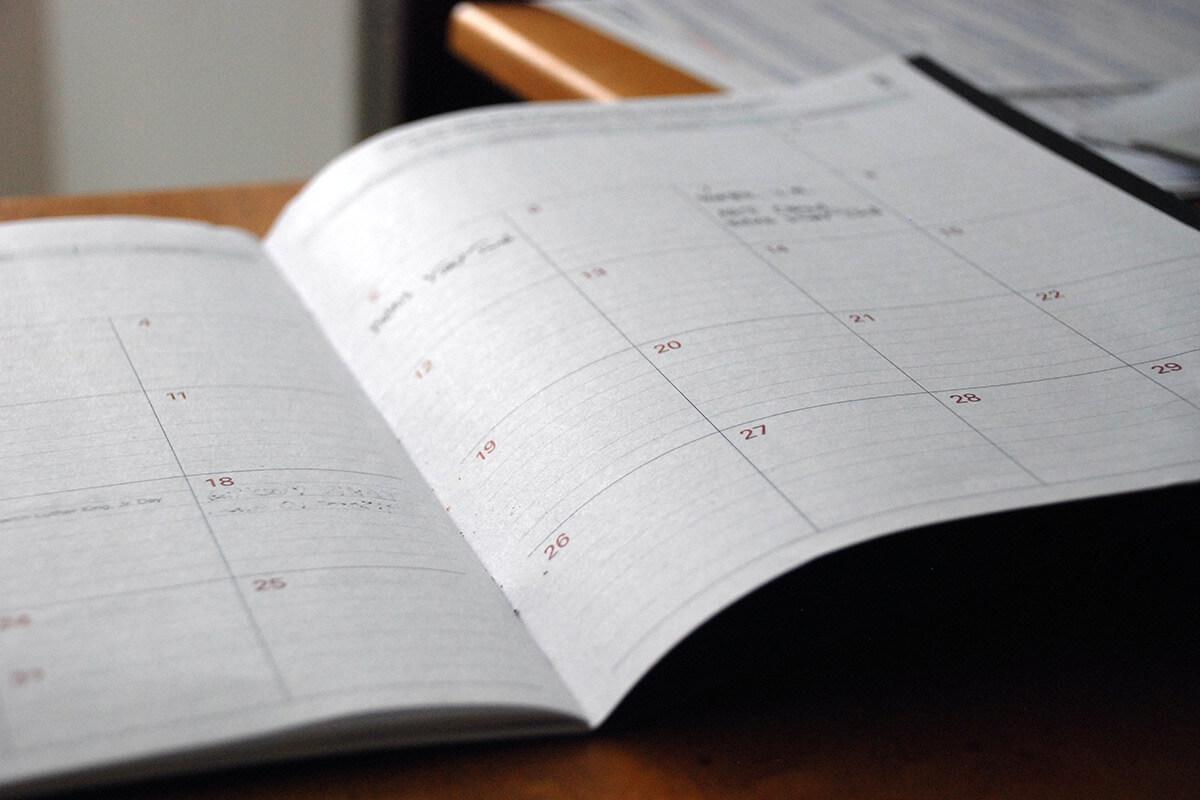 Calendario de 2021