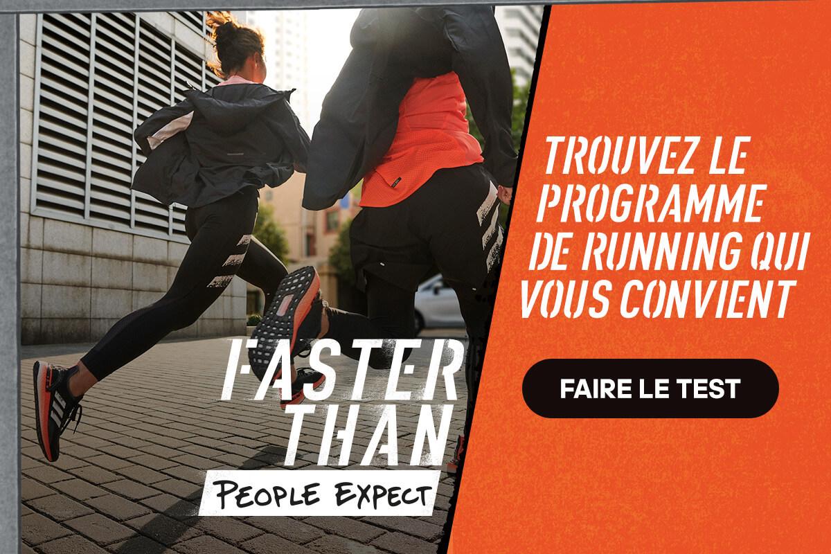 Faster Than - Programme de Running