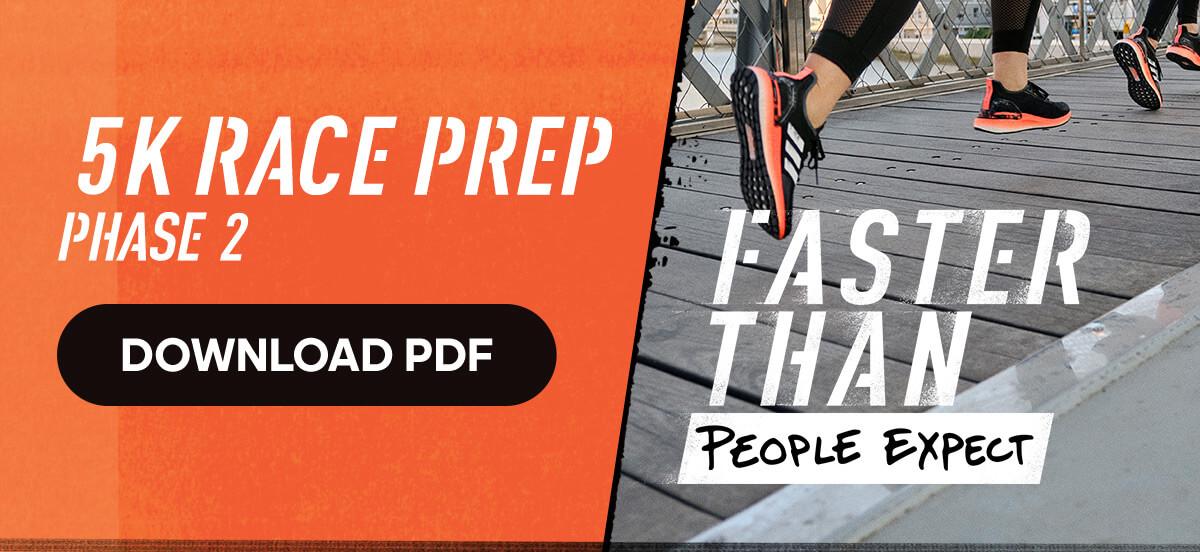 adidas Runtastic Running Training Plan: 5K Race Prep