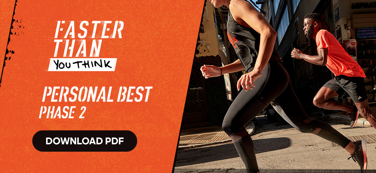 adidas Runtastic Running Training Plan: Personal Best