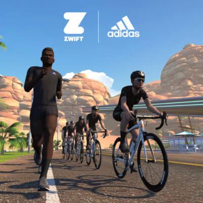 Colaboración de Zwift y adidas para reto solidario