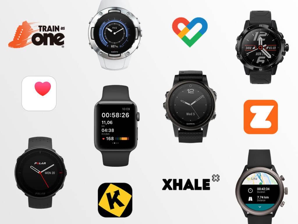 app e dispositivi compatibili con adidas Running