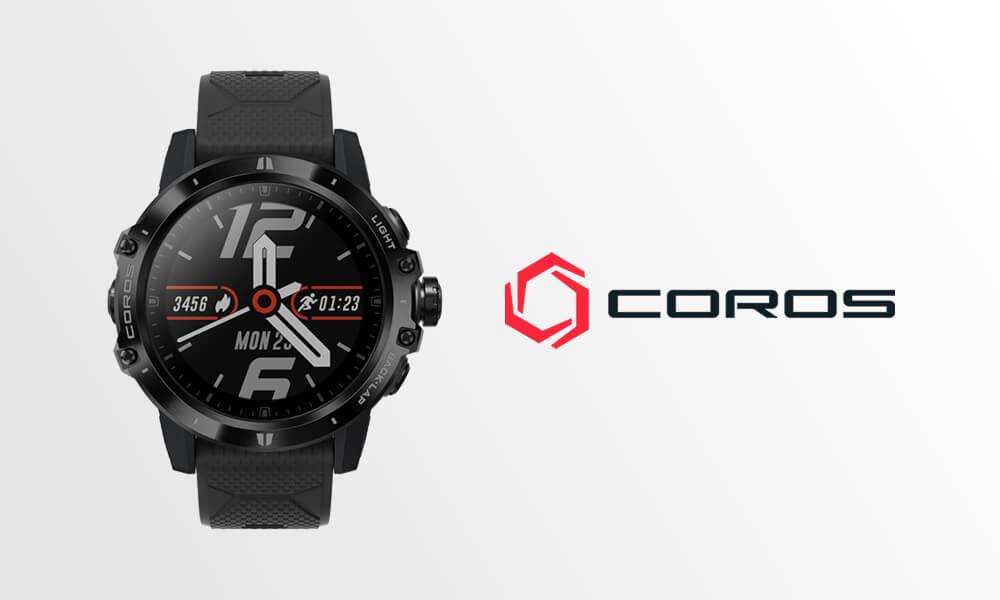 coros smartwatch orologio running
