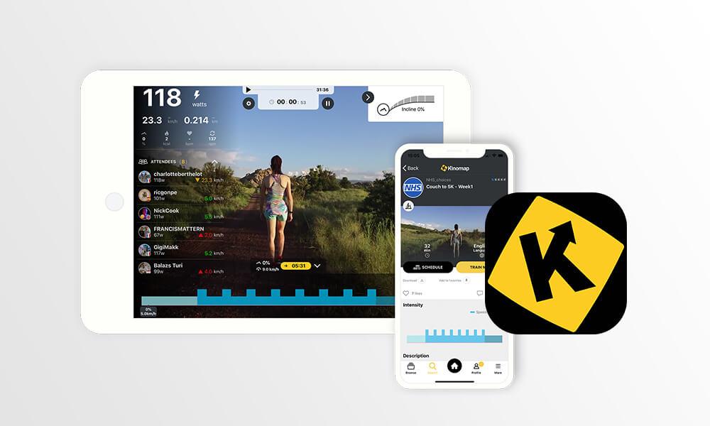 Kinomap compatibile con adidas Running
