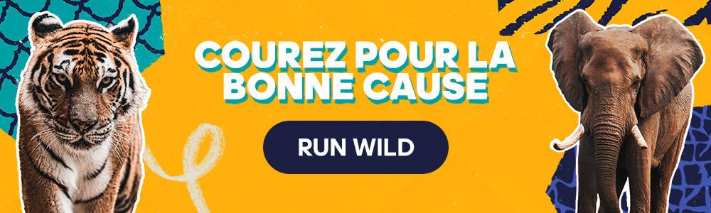 challenge Run Wild, mobilisons 1 million de runners pour représenter 1 million d'espèces menacées