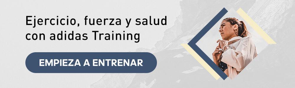 ejercicio, fuerza y salud con adidas Training app