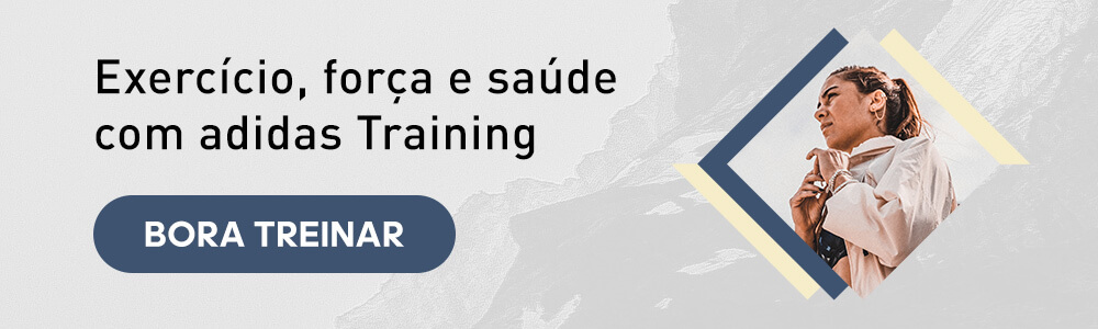 exercício, força e saúde com adidas Training app