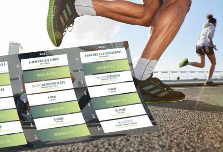 Piano di allenamento running